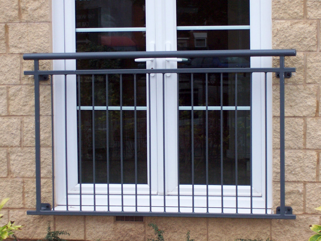 Steel juliet balconies from iron design in west midlands for Metal balcony
