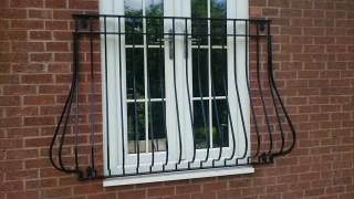 Iron juliet balcony in Birmingham