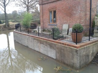 railings at Earlswood