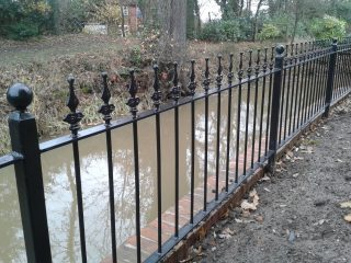 railings at Earlswood