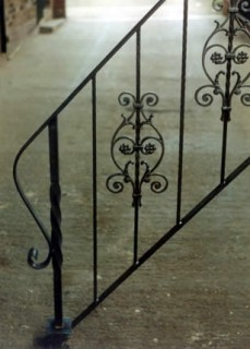 Iron balustrade example design