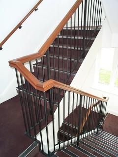 Black iron balustrade