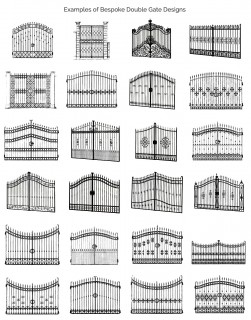 Iron gate designs