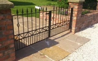 Iron gates in Sutton Coldfield