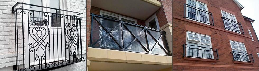 Aluminium & steel balconies