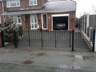 Iron gates in Wolverhampton