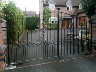 Iron gates in Hagley