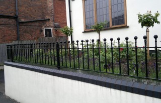 Iron railings for a home in Kinver