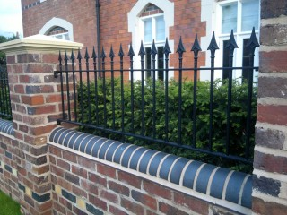 Iron railings in Hagley
