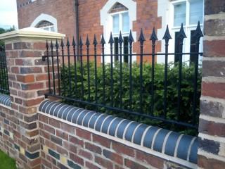 Iron railings in Hagley