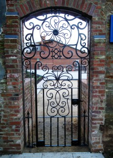 Iron gates for Saint Martins Girls School in Solihull.