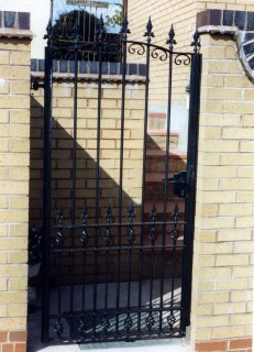 Iron gate in Dudley