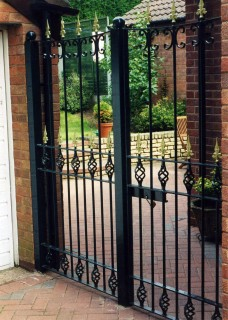Iron gate in Norton, Stourbridge