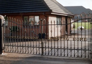 Iron gates in Hall Green, Birmingham