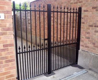 Iron gates in Penkridge