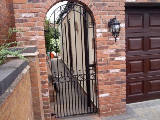 Iron gate in Wombourne